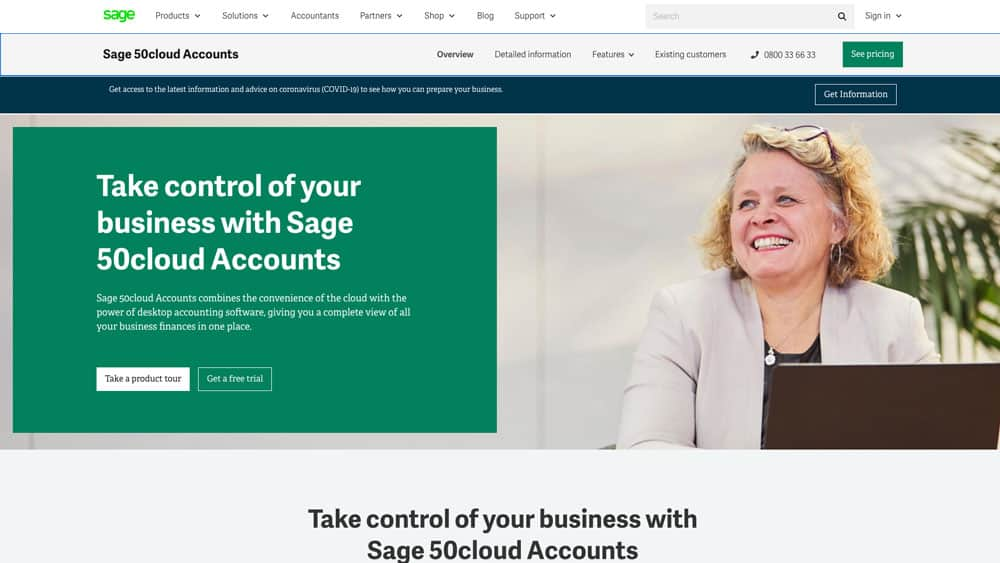 sage50 accounting software website