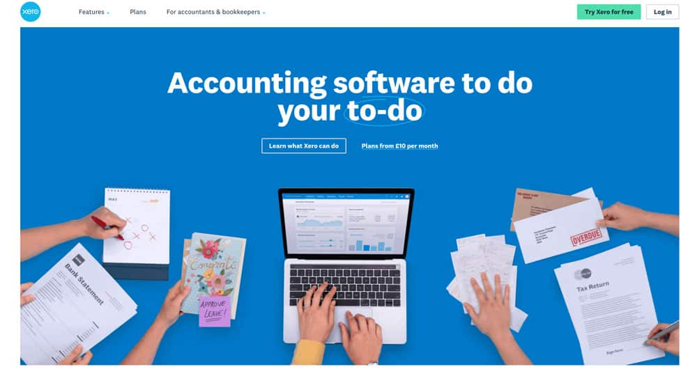 xero accounting software website